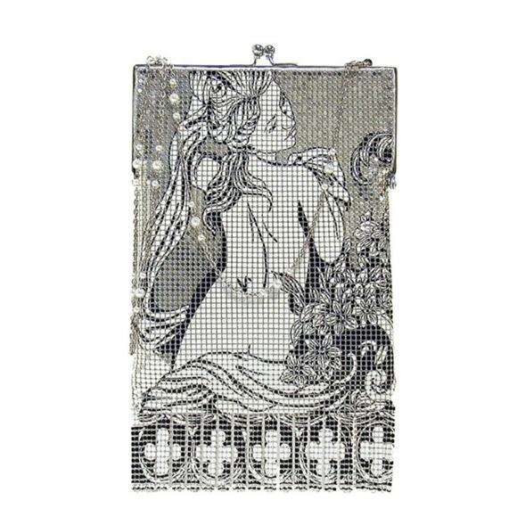 Whiting and Davis Handbags - RARE & Dee-vine - Whiting & Davis Bella Purse